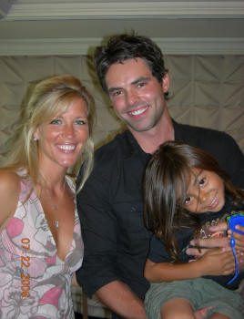 Laura Wright and Jason Thompson